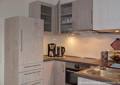 Küche Singlewohnung Boardinghouse Kowalski