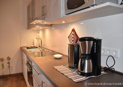 Küchenansicht Boardinghouse Kowalski